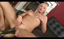 Maya Fucking Two Big Dildos