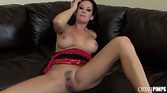 Tory Lane growls like an angry pirate as she takes another cock for money