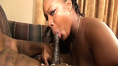 Big ass hooker Chyna-t performs her service and gets her twat plowed