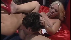 Seductive fucker Steve Holmes can't leave Missy Monroe alone without sex